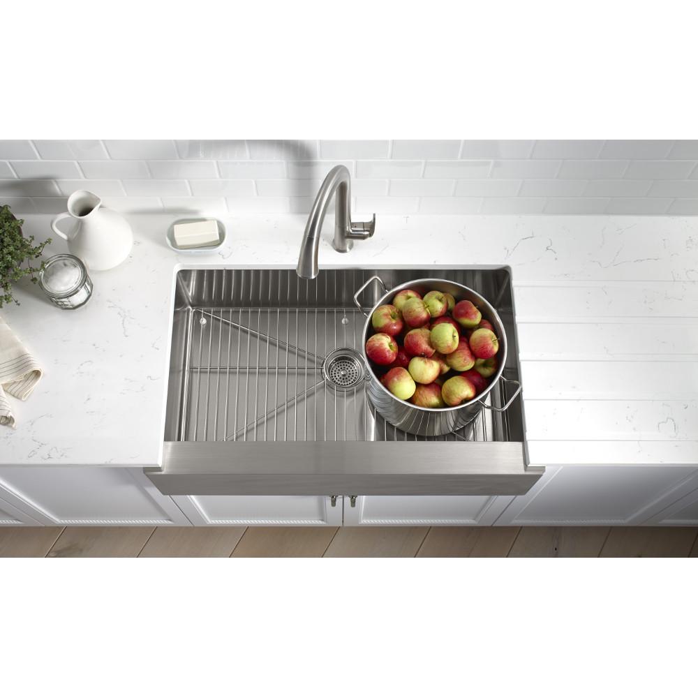 university park kitchen - kohler strive sink