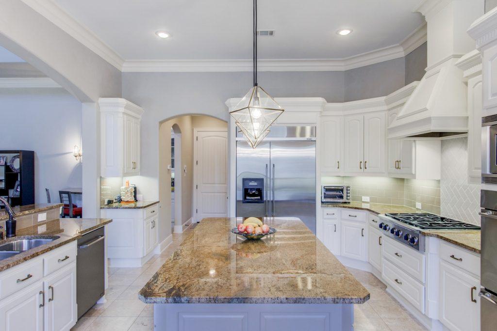 dark kitchen island remodel
