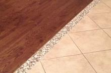 Ceramictec Tile To Tile Transition For Florida Tile Floors Source · Let S  Imagine That Most Of Your Home Has Hardwood Floors And Now You Re Ready