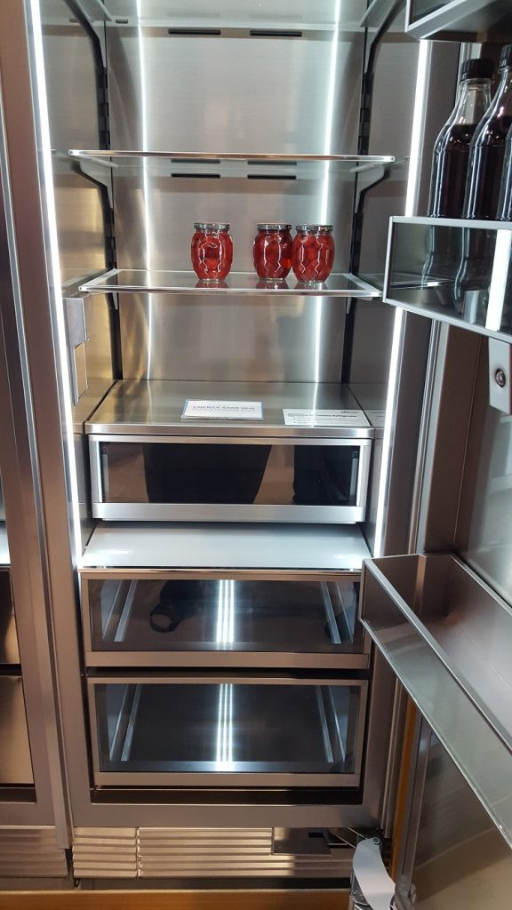 Dacor's New Fridge and Freezer - KBIS 2017