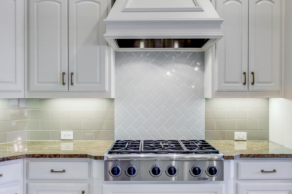 We Love Designing With Herringbone!   Snappy Kitchens