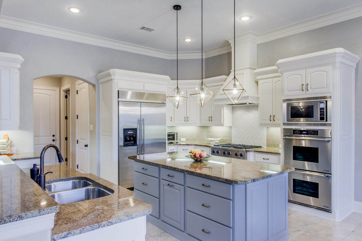 Not Only Do We Have A Contrasting Color On The Island, But We Also Have A  Contrasting Color On The Countertop. If You Look Closely, You Will Also See  The ...